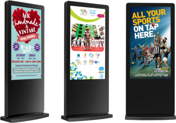 Floor Standing Digital Signs