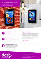 Nova Outdoor Digital Sign Brochure